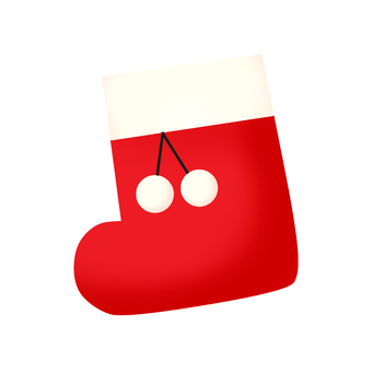 Christmas boots icon (no background color)