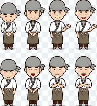 庫克(男人,蕎麥麵工匠)