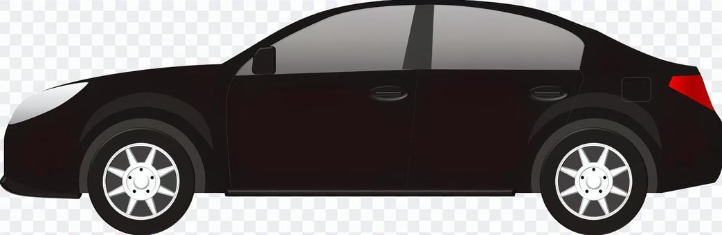 汽车(轿车黑色)