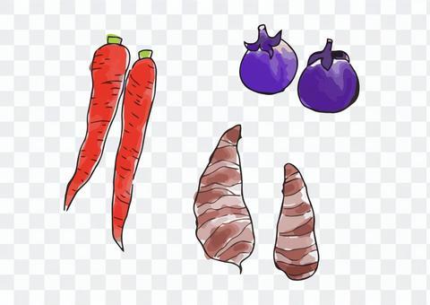 京都蔬菜3種設置