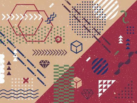 幾何圖案分類(模糊版)