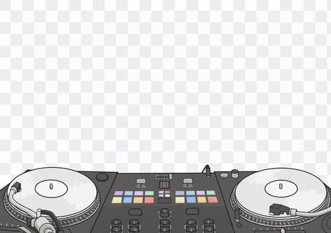 Turntable (white binary)