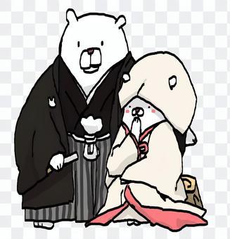 在神面前結婚真好