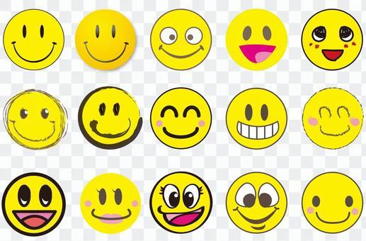 什錦的笑臉標記