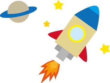 土星和火箭