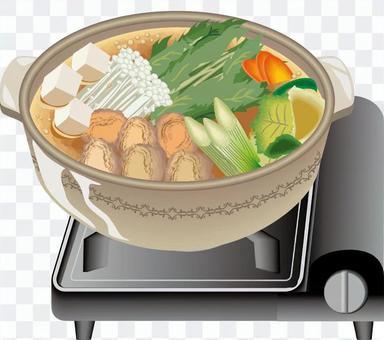 カセットコンロ ちゃんこ ちゃんこ鍋