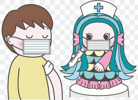 阿馬比疫苗注射