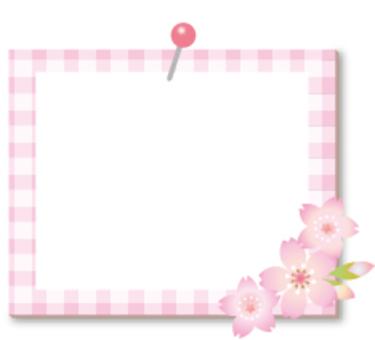 可愛的櫻桃樹框架