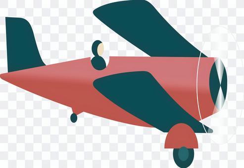 プロペラ機 操縦士