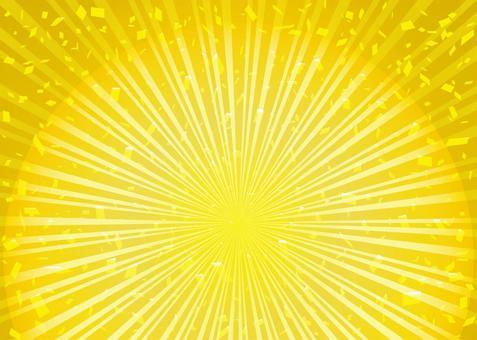 背景集中線日式出售金色框架邊框壁紙壽