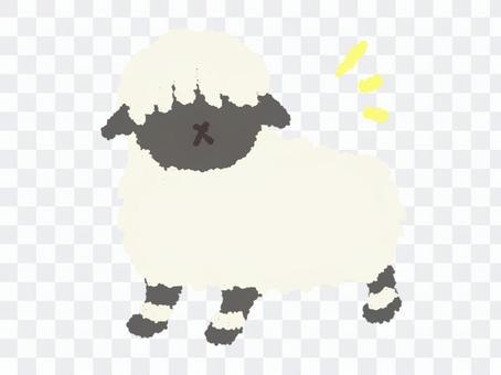 ゆるいもこもこ羊
