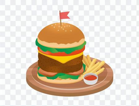漢堡包01
