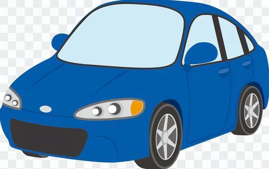 汽車(轎車A)藍色