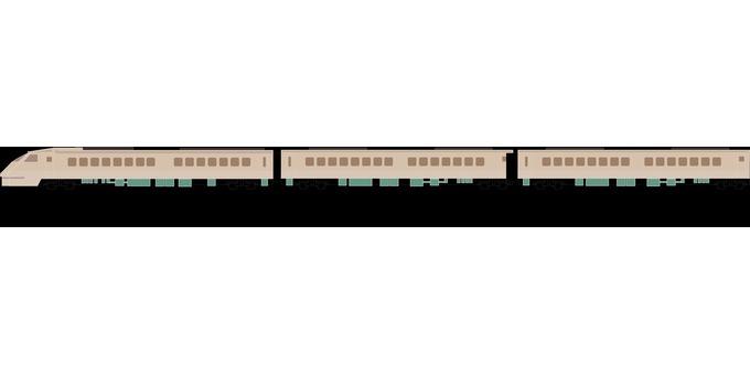 鐵道列車車輛特快接力燕