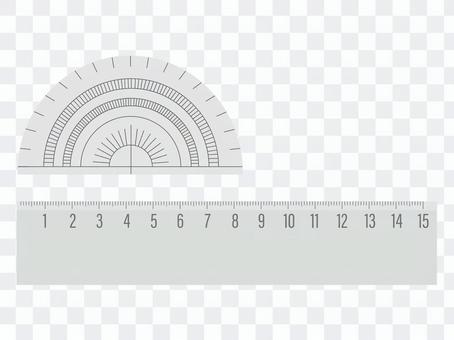 標尺和量角器