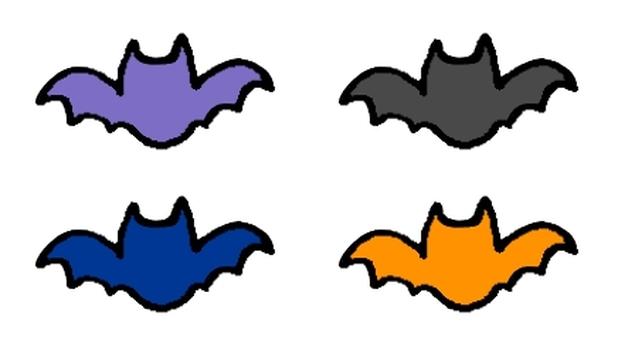 Bat mark (handwritten style)