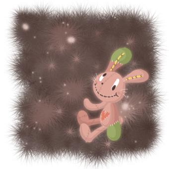 兔毛绒玩具