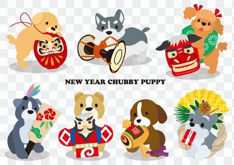 NEWYEAR CHUBBY PUPPY