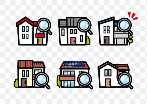 卓越的房屋調查和檢查放大鏡