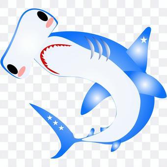 鎚頭鯊圖標可愛