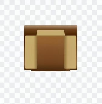 Sofa (Brown) 04