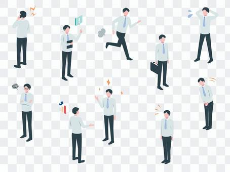 Isometric_Business_Person 06