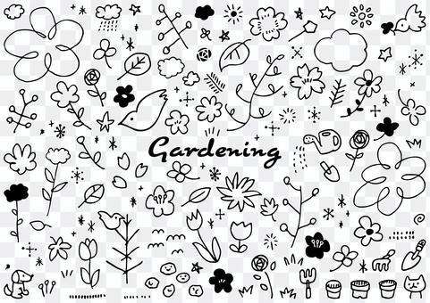 Gardening set (mono)