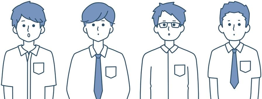 男學生京都整潔的設計