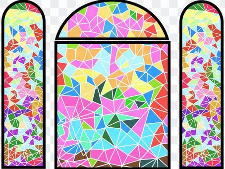 彩绘玻璃窗2