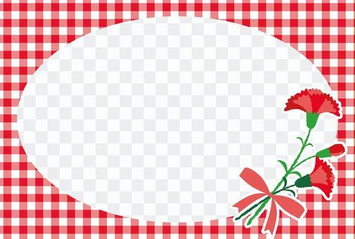 母親節康乃馨相框09