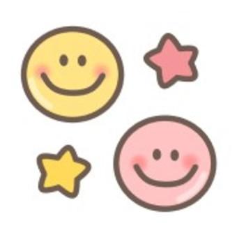 Smile smile simple pastel shy