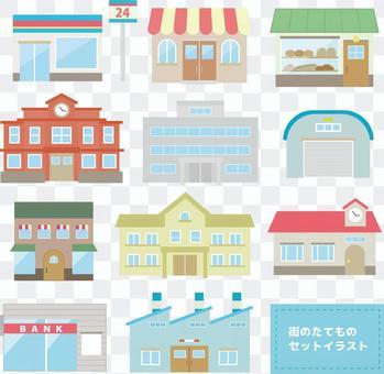 設置城市街道圖