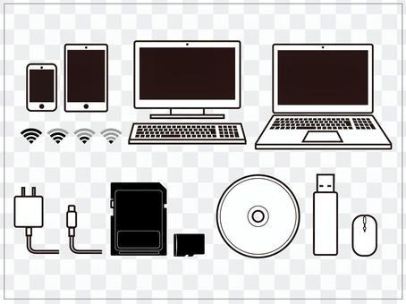 PC和智能手機耗材
