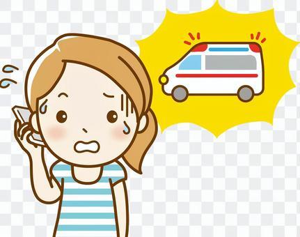 Women who call an ambulance