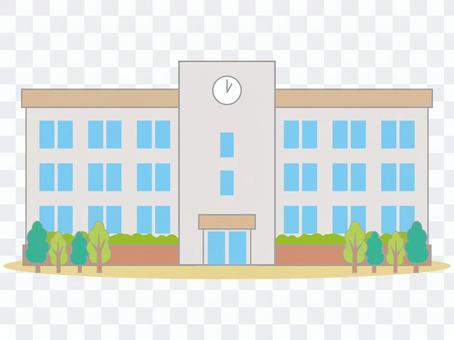 School building 01