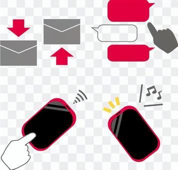 Communication set