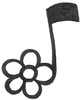 Flower note note