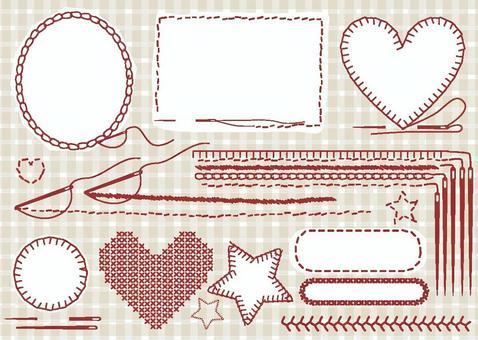 刺繡樣式框架
