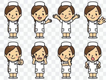 護士的女士們
