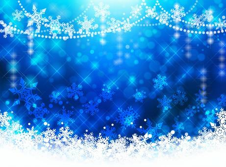 聖誕節背景圖像 - 藍色