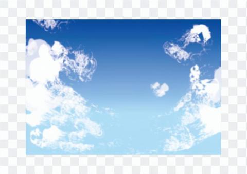 天空和雲彩02