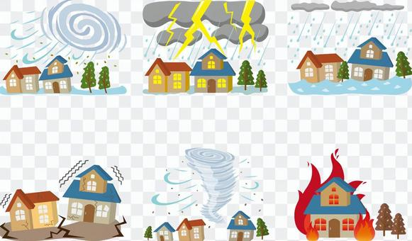 自然災害 災害セット