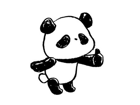 Child panda-good