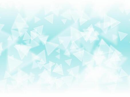 三角燈·天藍色