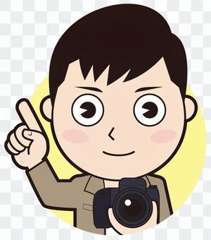 指著男攝影師(普通)