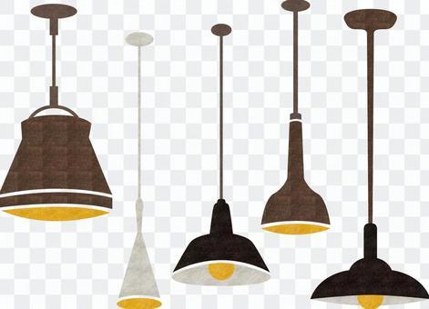 北歐時尚燈復古粗糙的紋理
