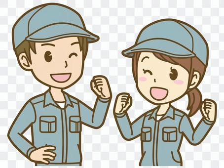 男人和女人(工人):C_Kiki 01BS