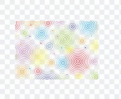 彩虹的顏色波紋壁紙