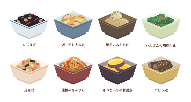 Assorted side dishes (re-up)