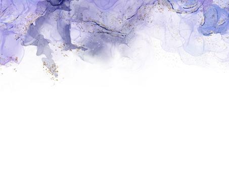 酒墨藝術紫色框架